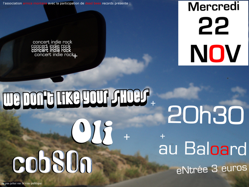 we don u0026 39 t like your shoes  oli et cobson au baloard